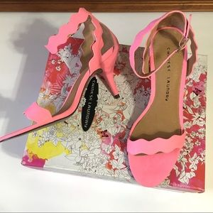 Chinese Laundry Leather Heels New